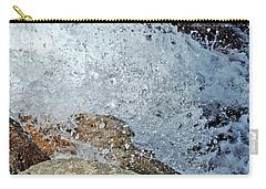 Carry-all Pouch featuring the photograph Splash by Lynda Lehmann