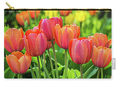 Carry-all Pouch featuring the photograph Splash Of April Color by Bill Pevlor