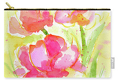 Splash Of Pinks  Carry-all Pouch