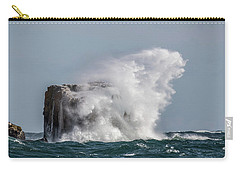Carry-all Pouch featuring the photograph Splash by Paul Freidlund