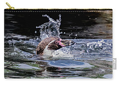 Splashing Humboldt Penguin Carry-all Pouch
