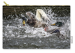Splashing Mallards  Carry-all Pouch