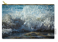 Splashing Wave Carry-all Pouch