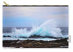 Splashing Waves Of Tsitsikamma Carry-all Pouch by Jeff at JSJ Photography
