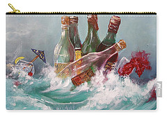 Splattered Wine Carry-all Pouch