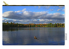 Splendid Autumn View Panoramic Carry-all Pouch