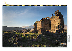 Splendid Ruins Of St. Grigor Church In Karashamb, Armenia Carry-all Pouch