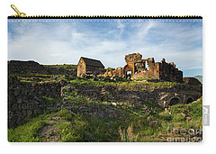 Splendid Ruins Of St. Sargis Monastery In Ushi, Armenia Carry-all Pouch