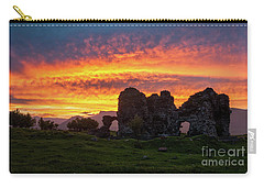 Splendid Ruins Of Tormak Church During Gorgeous Sunset, Armenia Carry-all Pouch