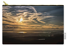 Carry-all Pouch featuring the photograph Splendorous Sunset by John M Bailey