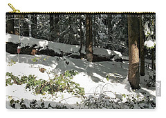 The Splendour Of Snow Carry-all Pouch