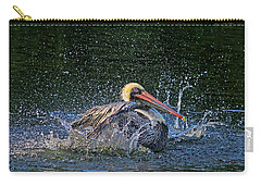 Carry-all Pouch featuring the photograph Splish Splash by HH Photography of Florida