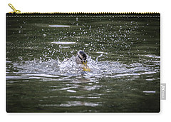 Splish Splash Carry-all Pouch by Ray Congrove