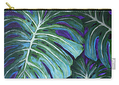 Split Leaf Philodendron Carry-all Pouch