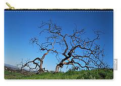 Split Single Tree On Hillside Carry-all Pouch