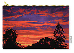 Sploingle Sunset Carry-all Pouch by Mark Blauhoefer