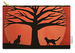 Spooky Cat Tree Carry-all Pouch