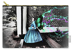 Spooky Historic Butterfly Dahlonega  Carry-all Pouch