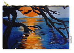 Spooky Hollow - Painting Carry-all Pouch