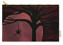 Spooky Spider Tree Carry-all Pouch