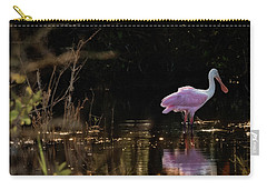 Spoonbill Fishing For Supper Carry-all Pouch