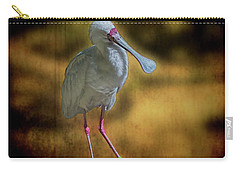 Spoonbill Carry-all Pouch by Lewis Mann