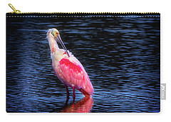Spoonbill Sunset Carry-all Pouch