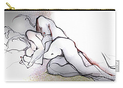 Spooning - Loving Couple Carry-all Pouch