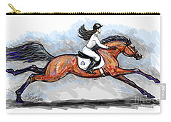 Sport Horse Rider Carry-all Pouch