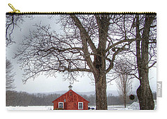 Spot Of Color Carry-all Pouch by Betsy Zimmerli