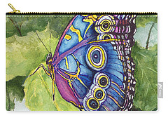 Carry-all Pouch featuring the painting Spot by Sam Sidders