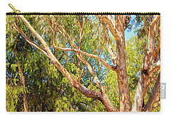 Carry-all Pouch featuring the photograph Spot The Koala, Yanchep National Park by Dave Catley