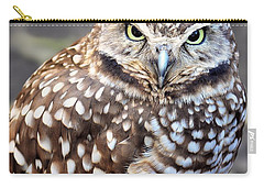 Spots - Burrowing Owl Carry-all Pouch