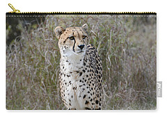Carry-all Pouch featuring the photograph Spotted Beauty by Fraida Gutovich