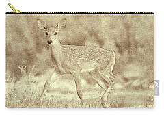 Spotted Fawn Carry-all Pouch by Jim Lepard
