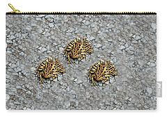 Spotted Frogs On Stone  Carry-all Pouch