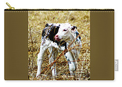 Spotted Newborn Calf Carry-all Pouch