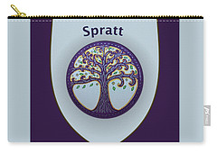 Spratt Family Crest Carry-all Pouch