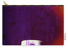 Carry-all Pouch featuring the mixed media Sprayed by Karol Livote