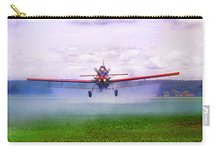 Spraying The Fields - Crop Duster - Aviation Carry-all Pouch