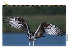Carry-all Pouch featuring the photograph Spread Your Wings by Cindy Lark Hartman