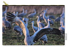 Carry-all Pouch featuring the photograph Spread Your Wings by Shari Jardina