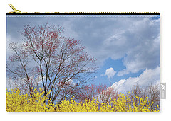 Carry-all Pouch featuring the photograph Spring 2017 by Bill Wakeley