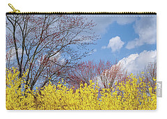 Carry-all Pouch featuring the photograph Spring 2017 Square by Bill Wakeley