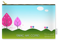 Spring As Come Card Carry-all Pouch