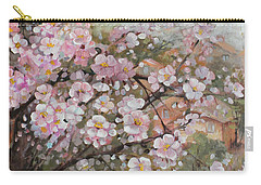 Spring At Country Side Carry-all Pouch by Vali Irina Ciobanu