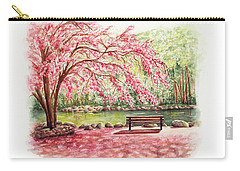 Spring At Lithia Park Carry-all Pouch