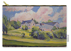 Spring At The Hoeve Zonneberg Maastricht Carry-all Pouch by Nop Briex