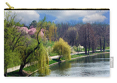 Spring At The Lake Carry-all Pouch
