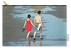 Spring Beach Walk  Carry-all Pouch